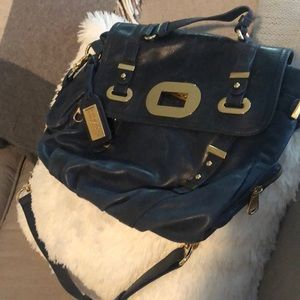 Badgley Mishka Melissa soft leather shoulder bag
